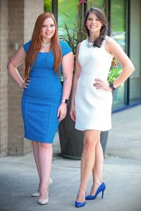 Family Law, Divorce, & Child Custody Attorneys: AshLeigh Meyer Dunham (Left) and April Hare DeLuca (Right)