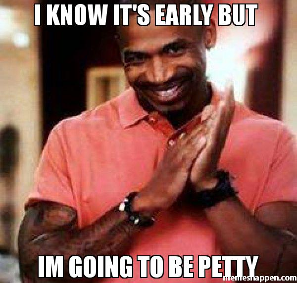 Stop Being Petty